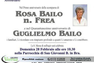 Rosa Bailo n. Frea e Guglielmo Bailo