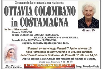 Ottavia Colombano in Costamagna