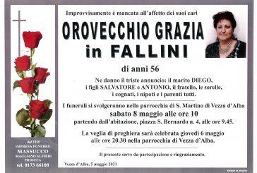 Grazia Orovecchio in Fallini