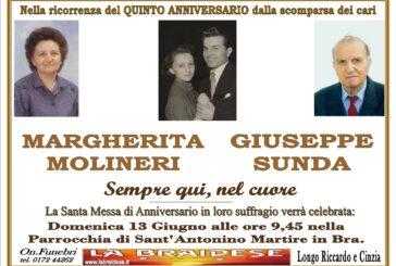 Margherita Molineri e Giuseppe Sunda