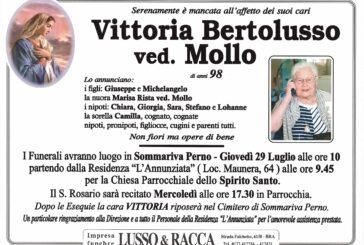 Vittoria Bertolusso ved. Mollo